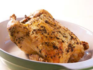 Rustic Herb Roasted Chicken