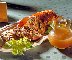 Apple-Stuffed Pork Roast
