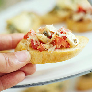 Bruschetta with Two Toppers