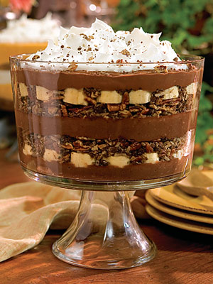 Chocolate-Banana Pudding