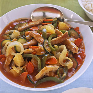 Sweet & Sour Pork with Vegetables