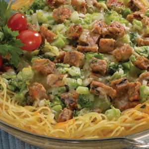 Spaghetti Broccoli Quiche