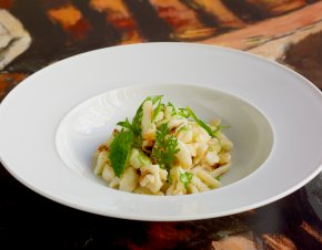 Fresh Herbed Quark Spaetzle