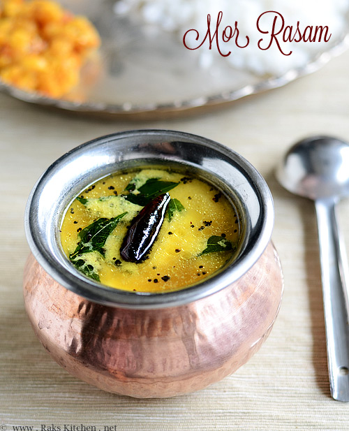 MOR RASAM RECIPE (BUTTERMILK RASAM)
