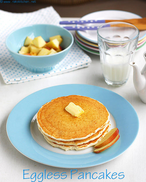 Eggless Pancakes Recipe (easy, Soft And Fluffy)