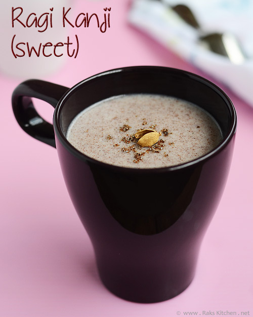 Ragi Kanji Recipe - Sweet & Salted Version