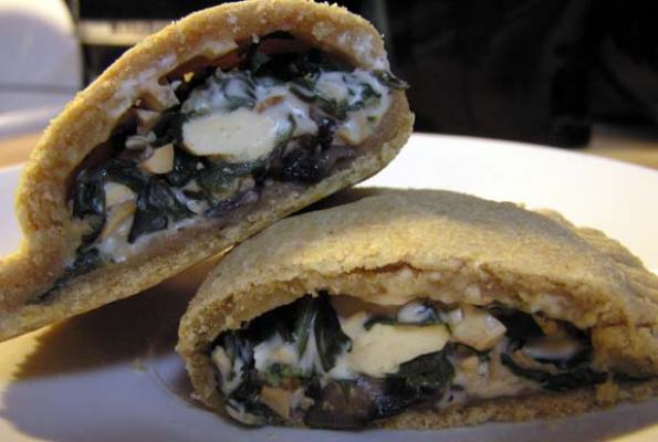 "Smoky ""Cheese"" and Spinach Empanada Filling"