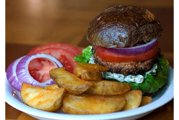 Heavenly Hempseed Hamburgers