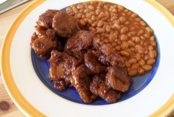 Fried BBQ Seitan