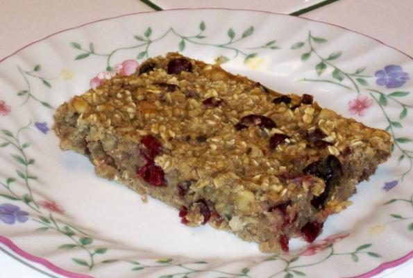 High Protein Oatmeal Bars