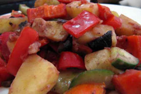 Vegan Potato Recipe (Mediterranean)