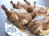 Cornish Hens Au Vin