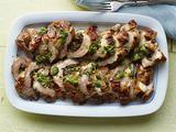 Mushroom-Stuffed Pork Tenderloin