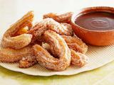 Cinnamon Churros with Mexican Chocolate Dipping Sauce