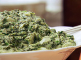 Easy Cheesy Spinach