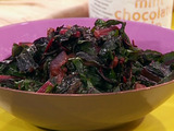 Seared Red Chard