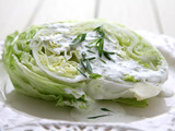 Iceberg Salad with Buttermilk Ranch Dressing