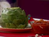 HG Hot Couple: Sassy 'n Steamy Artichoke with Salsa