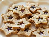 Linzer Star Sandwich Cookies
