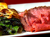 Roast Beef with Potatoes and Green Peppercorns