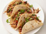 Slow-Cooker Turkey Mole Tacos