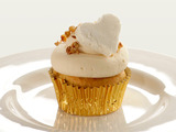Sweet Potato Cider Cupcake with Marshmallow Frosting