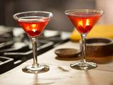 Spanish Cranberry Sparkling Martini