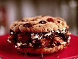 Turtle Cookie Ice Cream Sandwich
