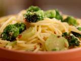 Spaghetti and Broccoli Aglio Olio