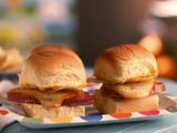 Grilled Mortadella and Salami Sliders