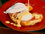 Eggs Benedicto (Chipotle Eggs Benedict with Blender Mock Hollandaise)