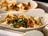 Bay Scallop Gratin