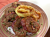 Low Carb Beefed-Up Meatloaf