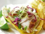Grilled Fish Tacos with Vera Cruz Salsa