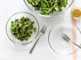Watercress Salad with Dried Fruit and Almonds