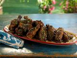 Smoked Jerk Chicken Wings with Honey-Tamarind Dipping Sauce
