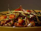 Roasted Kabocha Squash, Haricots Verts, Mushrooms and Pepitas
