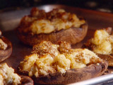 Grilled and Stuffed Portobello Mushrooms with Gorgonzola