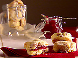 Salami and Gorgonzola Biscuits