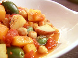 Squash and Chickpea Moroccan Stew