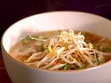 Pork and Udon Noodle Soup