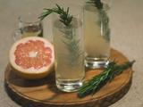 Rosemary Champagne Fizz