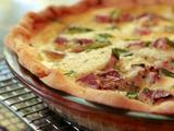 Quiche with Country Ham