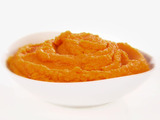 Carrot and Yam Puree