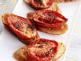 Crostini with Thyme-Roasted Tomatoes