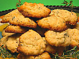 Lemon Thyme Olive Oil Cookies