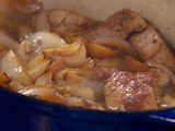 Potted Pork Tenderloin with Sweet Onions and Apple