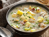 Low-Fat Clam Chowder