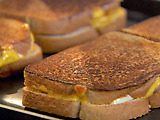 Sweet and Spicy Grilled Cheese Sandwiches