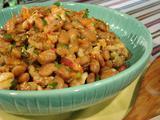 Lobster-Pinto Bean Salad